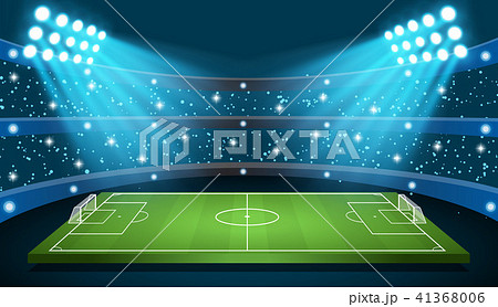 Soccer game Stadium 41368006