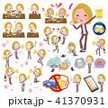 blond hair business women_alcohol 41370931