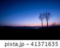 マジックアワー 原村 夕焼けの写真 41371635