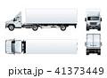 トラック トレーラー 車のイラスト 41373449