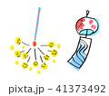 線香花火と風鈴 41373492