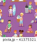 ベクトル 子供 掃除のイラスト 41375321