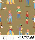 ベクトル 農民 農業のイラスト 41375366