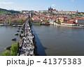 プラハ プラハ城 町並みの写真 41375383