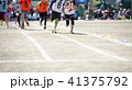 ランナー 駆ける 子どもの写真 41375792