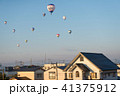 佐賀 気球 夜明けの写真 41375912
