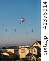 佐賀 気球 夜明けの写真 41375914