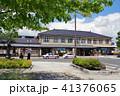 JR遠野駅 駅前ロータリー 41376065