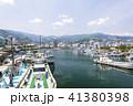 熱海港 漁船 港の写真 41380398
