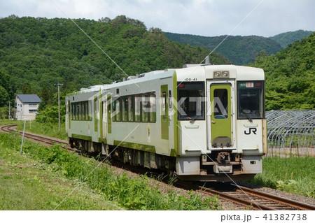 JR北上線 キハ100系の写真素材 [...