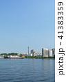 横浜 青空 マリンタワーの写真 41383359