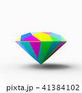 カラフルな宝石 41384102