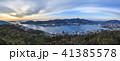 長崎港 夕暮れ 雲の写真 41385578