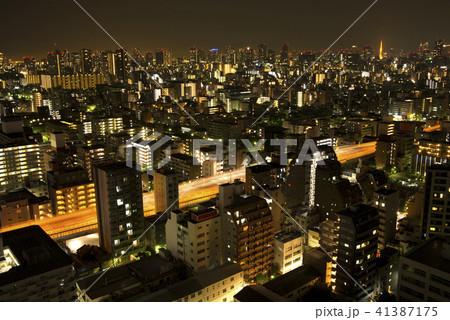 東京都市部の夜景 41387175