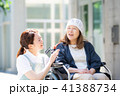 介護 車椅子 女性 41388734