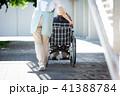 介護 車椅子 女性 41388784