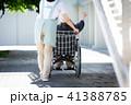 介護 車椅子 女性 41388785