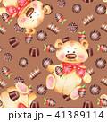 チョコレート お菓子 柄のイラスト 41389114