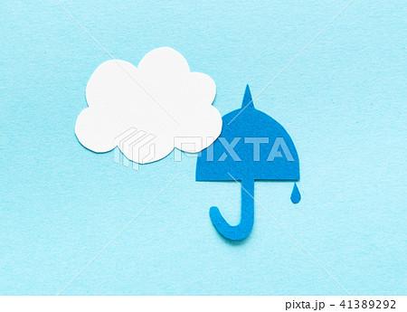 天気マーク 曇りのち雨 曇り時々雨 天気予報 予想 41389292