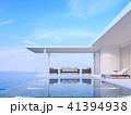 プール 空間 部屋のイラスト 41394938