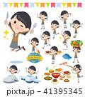school girl Brown Blazer_food festival 41395345