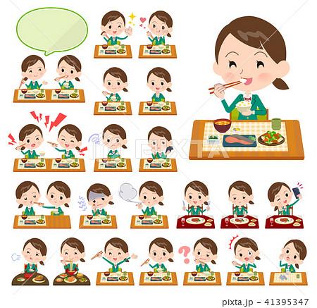 school girl Green Blazer_Meal 41395347