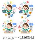 school girl Green Blazer_mulch task school 41395348