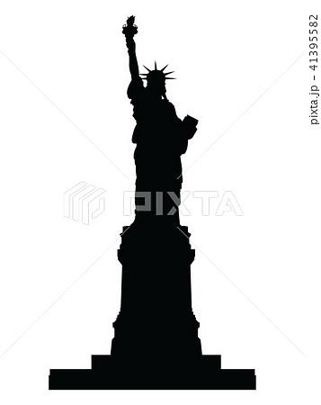 自由の女神のイラスト素材 41395582 Pixta