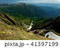 谷川岳稜線から見る一ノ倉沢と朝日岳・尾瀬方面の展望 41397199