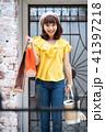 ショッピング 買い物 紙袋の写真 41397218