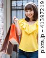 ショッピング 買い物 紙袋の写真 41397219