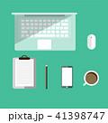 PC ノートパソコン パソコンのイラスト 41398747
