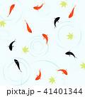 金魚 和 夏のイラスト 41401344