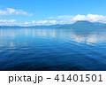 青空 空 湖の写真 41401501