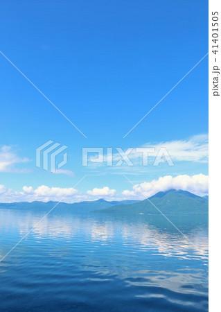 北海道 支笏湖 青の風景 41401505