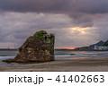 稲佐の浜の夕景 41402663