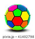 カラフルなサッカーボール 41402798