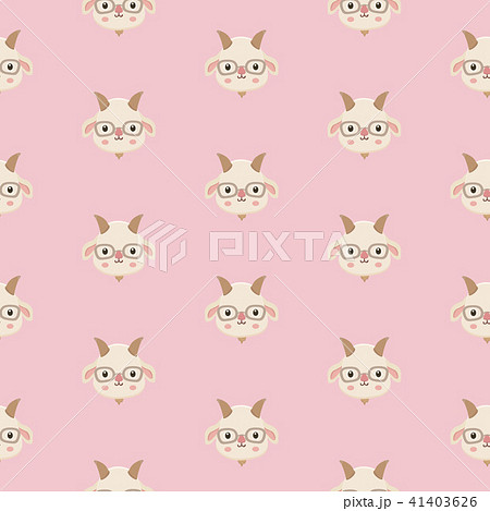 pattern with goats. 41403626