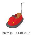 車 自動車 バンパーのイラスト 41403882