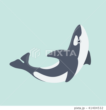 Vector illustration of a funny dolphin. 41404532