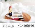 メイク道具 コスメイメージ 化粧道具の写真 41406049