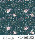 フローラル 花 シームレスのイラスト 41406152