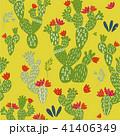 花 シームレス プランツのイラスト 41406349