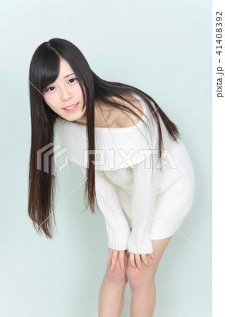 若い女性 ヘアスタイル 41408392