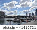 シドニーの海辺とヨットと青空 41410721