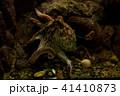 Octopus in the aquarium Selective focus 41410873