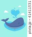 くじら クジラ 鯨のイラスト 41411531