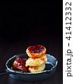 パンケーキ ラズベリー ジャムの写真 41412332