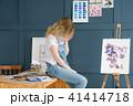 絵 画家 絵描きの写真 41414718
