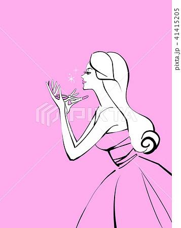 化粧直し 背景色ピンク 41415205